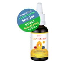 LCVitamin cseppek 30 ml - csipkebogyó és feketeáfonya kivonattal