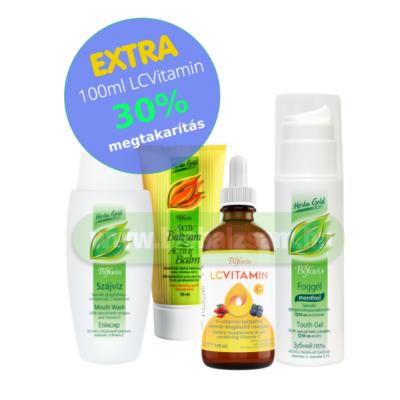 Fogíny Regeneráló Csomag | EXTRA 100 ml LCVitamin 30% megtakarítás!