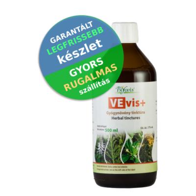 VEvis+ gyógynövény tinktúra 500 ml